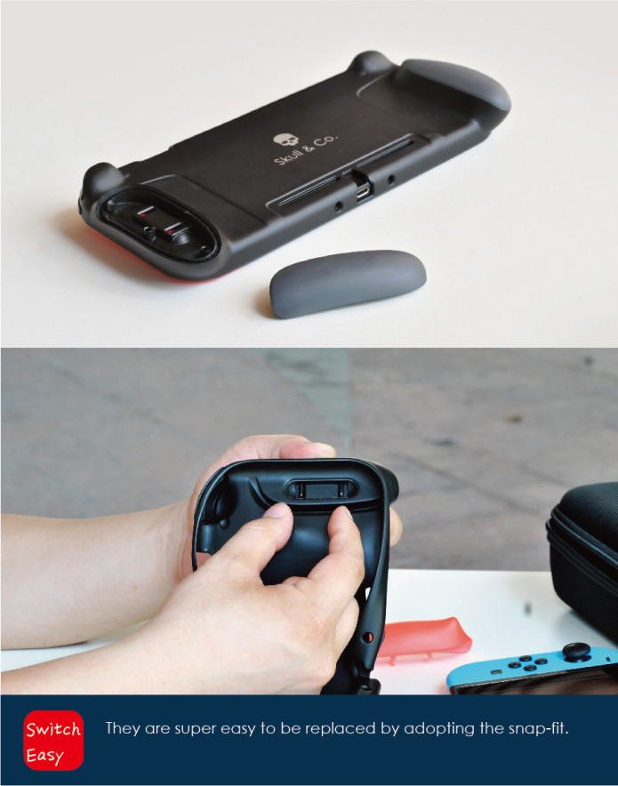 GripCase: A Comfortable Case for Nintendo Switch | Indiegogo