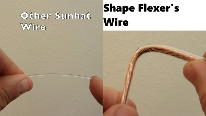Other Sunhat wires don t compare! Shape Flexer s ... 92e932c0f139