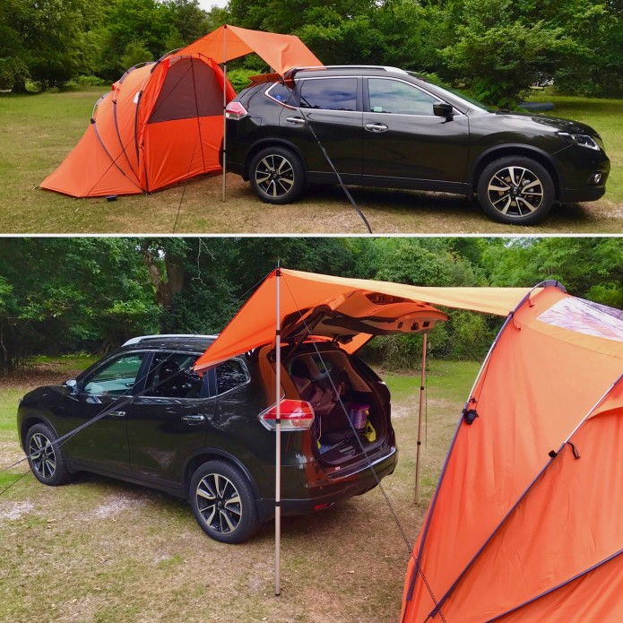 SheltaPod Is A Stylish And Versatile Campervan Awning That Can Adapt To The Changing Weather