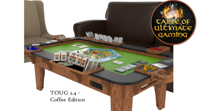 Table Of Ultimate Gaming World S 1 Gaming System Indiegogo