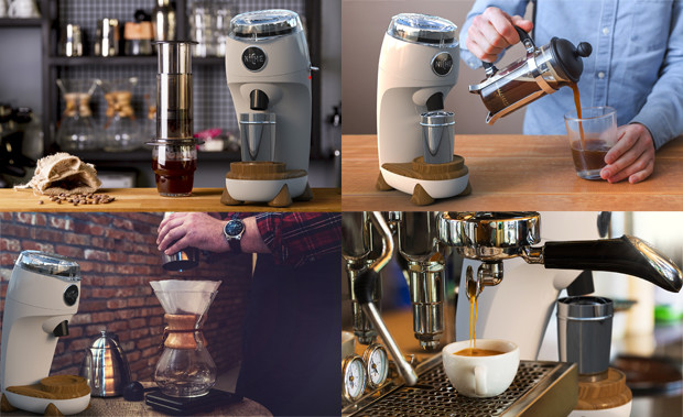 Niche Zero The Best Conical Burr Coffee Grinder Indiegogo