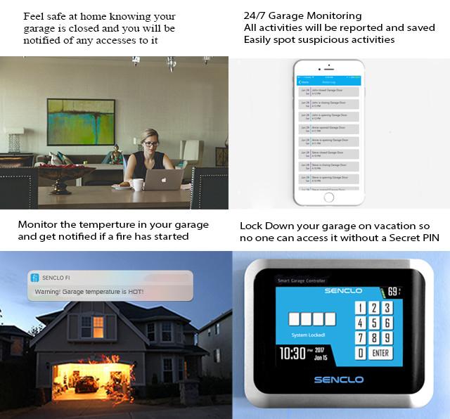 Fi A Universal Smart Garage Door Opener Indiegogo