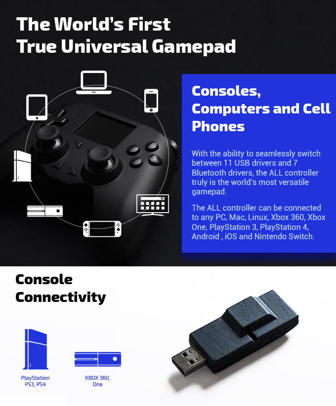 ALL Controller, Universal & Fully Customizable | Indiegogo