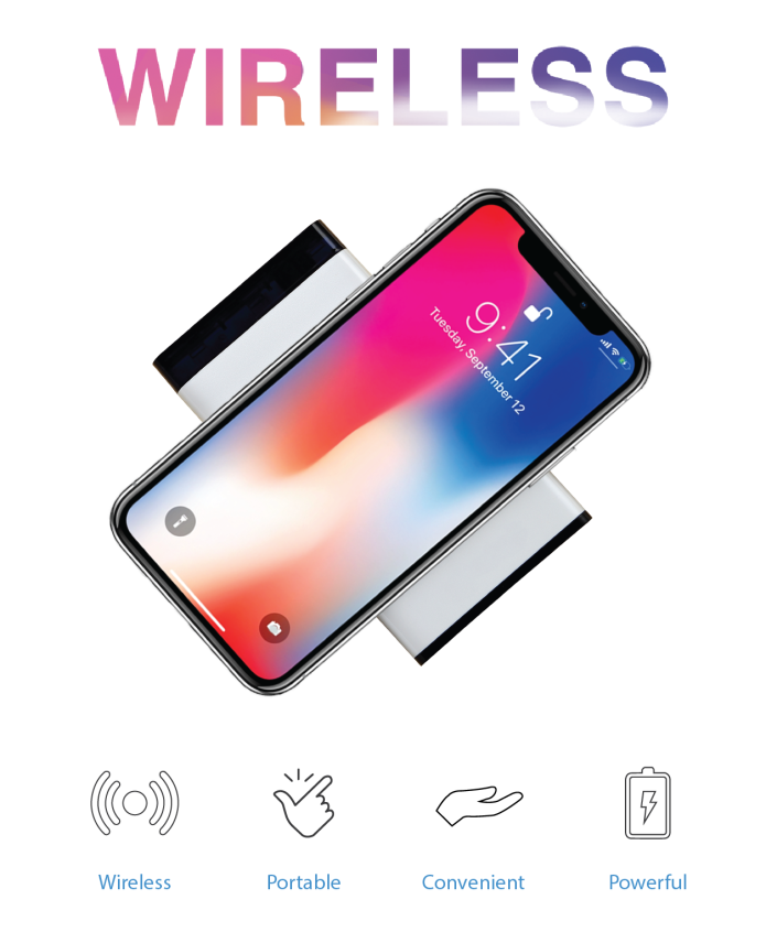 Nocable Is The Best Portable Wireless Charging Station Specifically Designed For Your Phone Simply Put On Top Of And It Will Soon