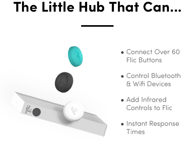 Flic Hub: Simplify Home Control with Smart Buttons | Indiegogo