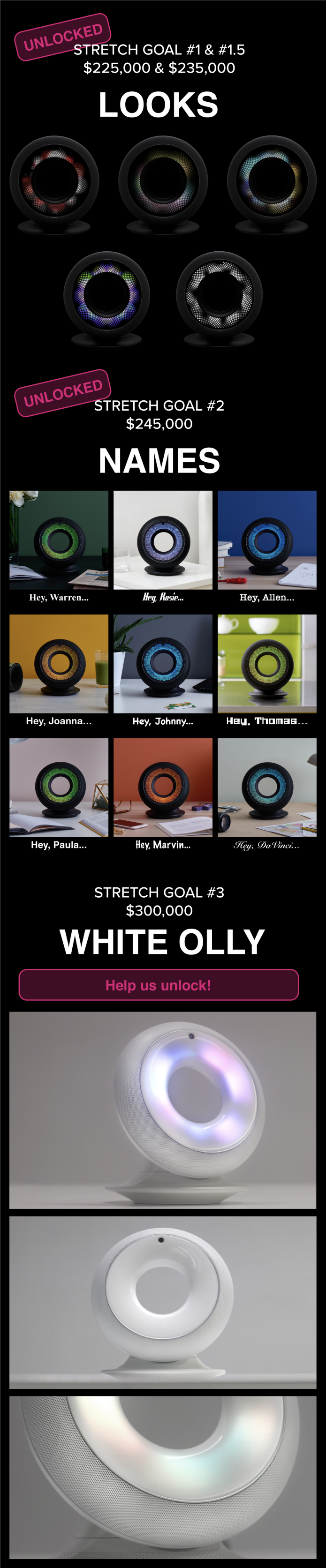 Olly The First Home Robot With Personality Indiegogo Wireless Network Diagram Features Updated 2112017