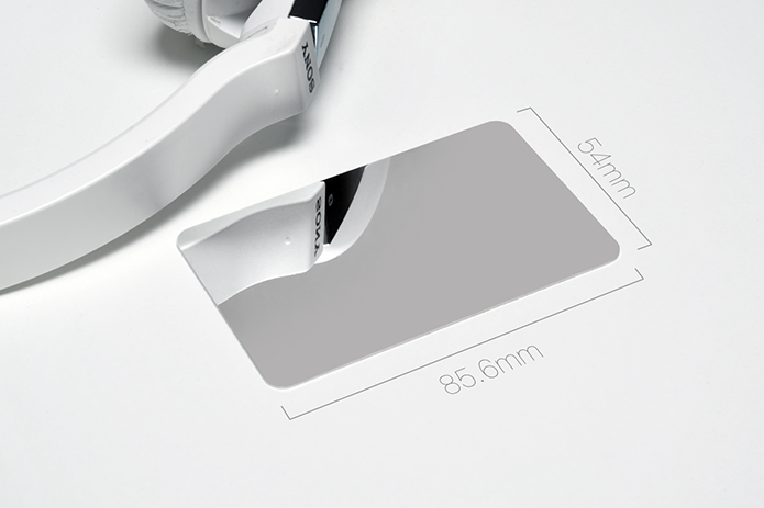 Discreet Solid Steel Credit Card Mirror Indiegogo