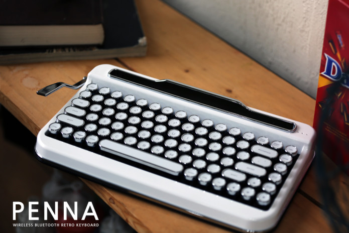 Penna - Typewriter style Retro Bluetooth Keyboard | Indiegogo