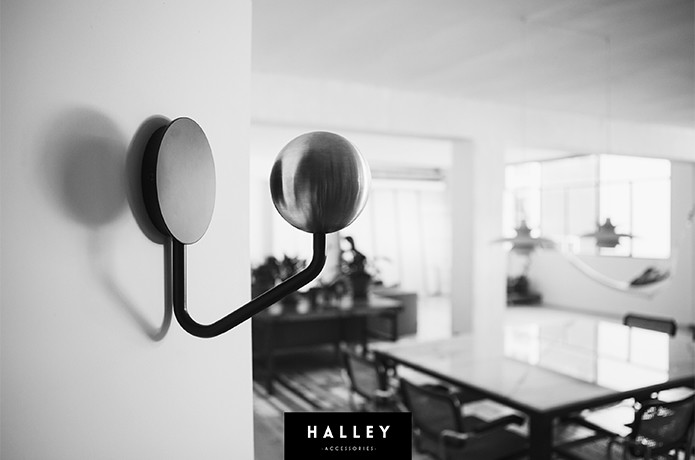 Give Your Helmet Itu0027s Own Place In Your Home With The Halley Helmet Rack, A  Minimal Approach To Helmet Storage.