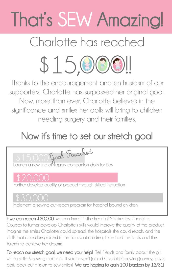 Stitches By Charlotte A Kid Business That Cares Indiegogo