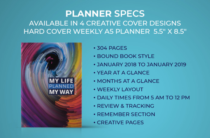 Your Life Planned Your Way Is The Only Way To Stay Motivated, Reach Goals  And Your Fuller Potential. It Also Includes An AUDIO Training On Planning,  ...