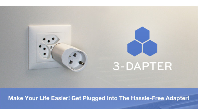 3-Dapter - untangle your life | Indiegogo