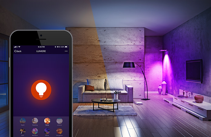 Lumiere Affordable White Color Smart Led Light Indiegogo