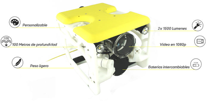 Sibiu Nano  Affordable   Portable Underwater Robot  8d658e1c44366