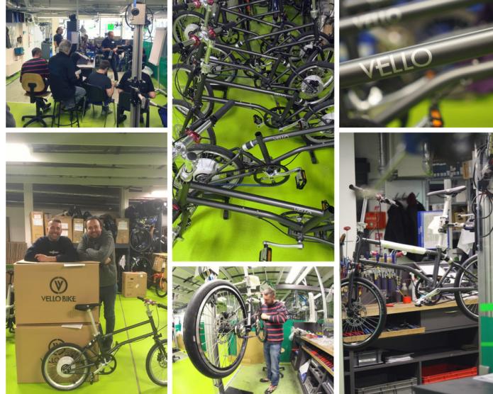 The Revolutionary Self Charging Folding E Bike