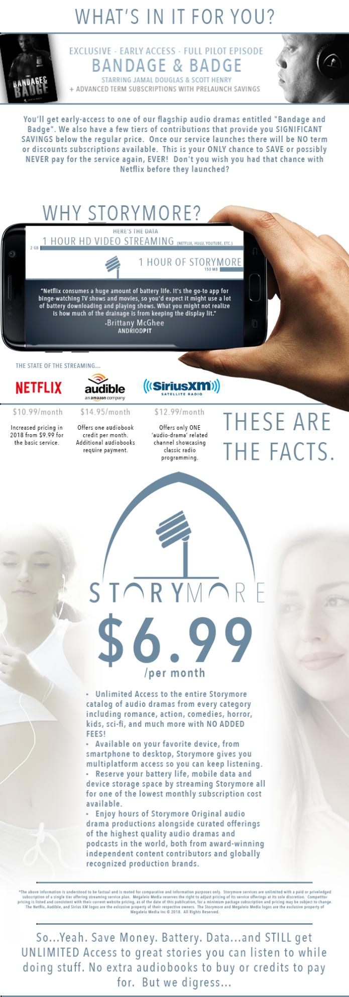 Storymore, Streaming Stimulating Stories! | Indiegogo