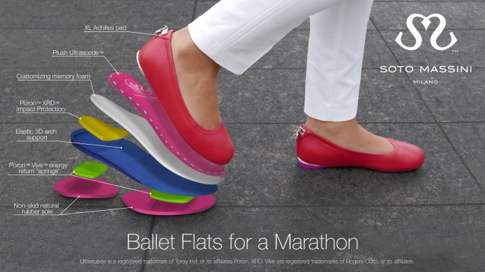 1f54174956ff Worlds Most Elegant Sneaker disguised as Ballerina