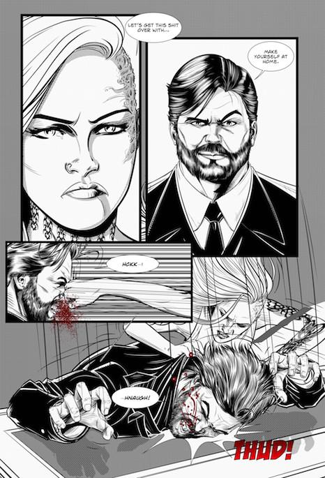 The Unforgiving Comic Book