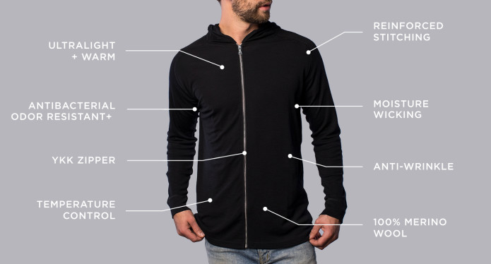 ccc53e27aede0a Unbound Merino makes clothing that helps you see more of the world, without  the burden of hauling around bulky luggage. Stylish, simple apparel that  can be ...