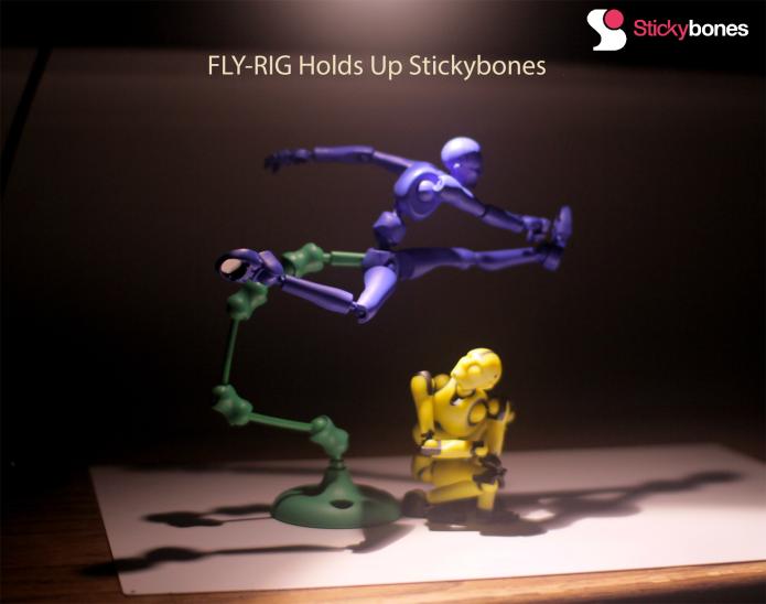 Stickybones: Rapid Posing & Animation Made Easy | Indiegogo