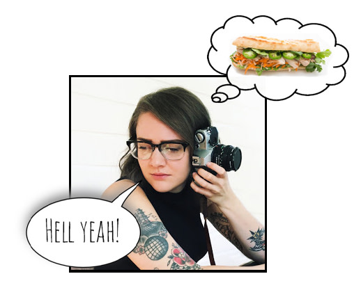 Sara loves Bahn Mi sandwiches
