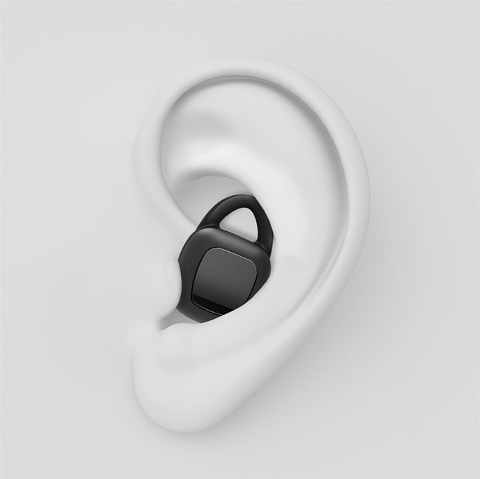 ARIA can achieve a comfortable and secure seal in every ear with its unique system combining the use of both earbud tips and wing tips.