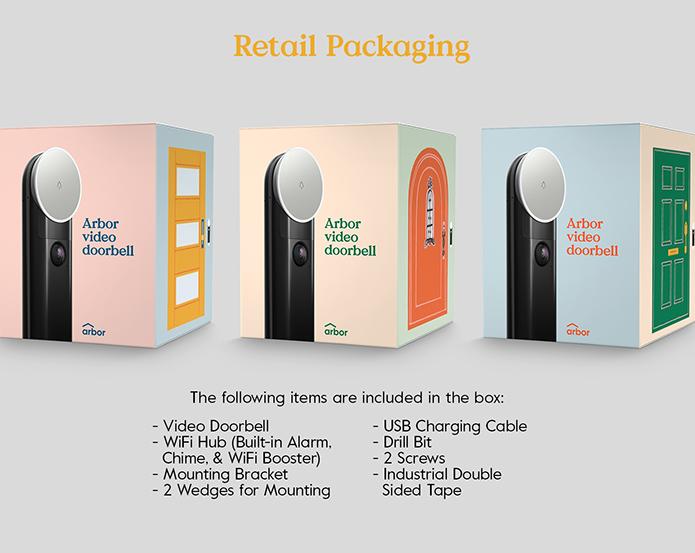 The Arbor Instant Video Doorbell | Indiegogo