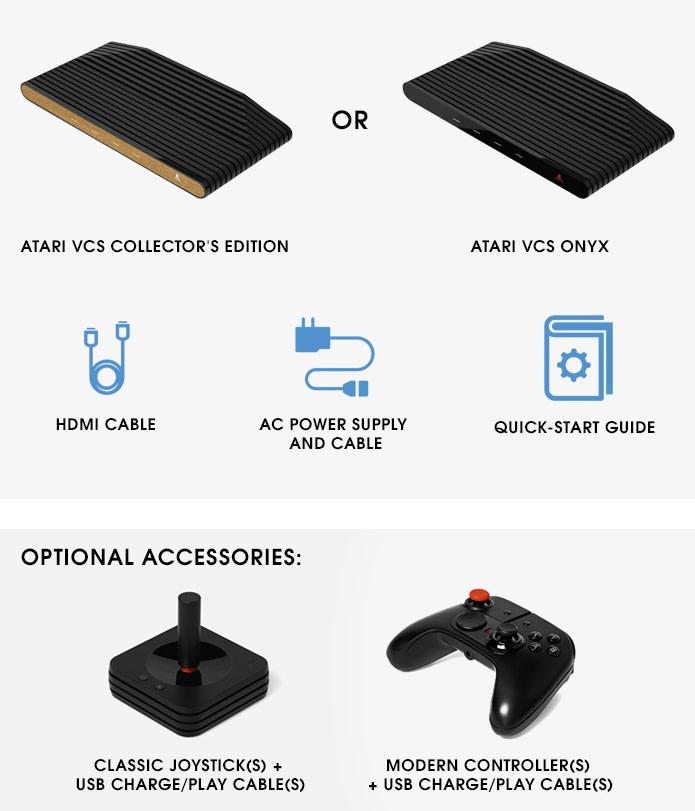 Atari complectation