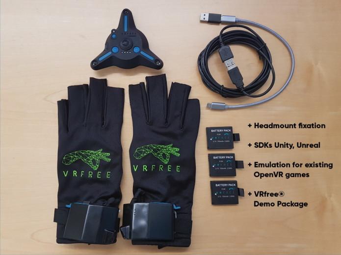 VRfree glove system | Indiegogo