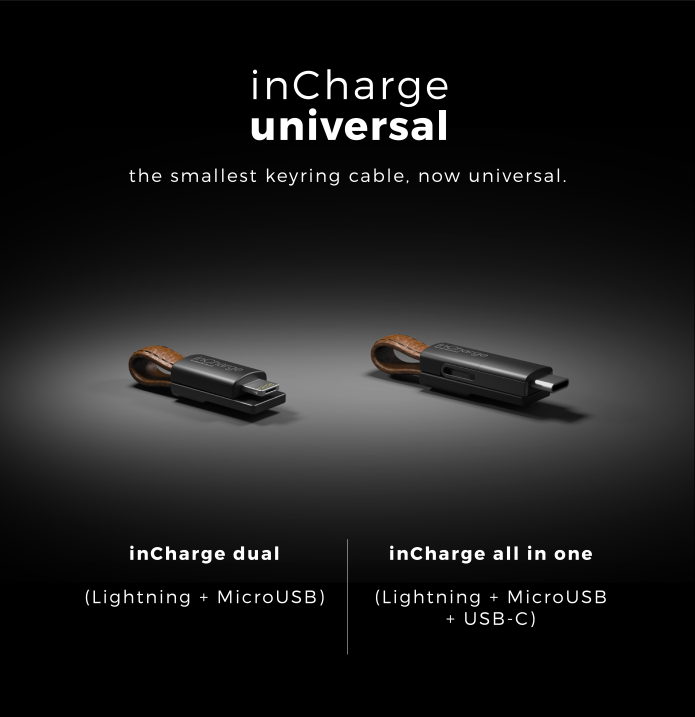 inCharge Universal - one cable to rule them all   Indiegogo