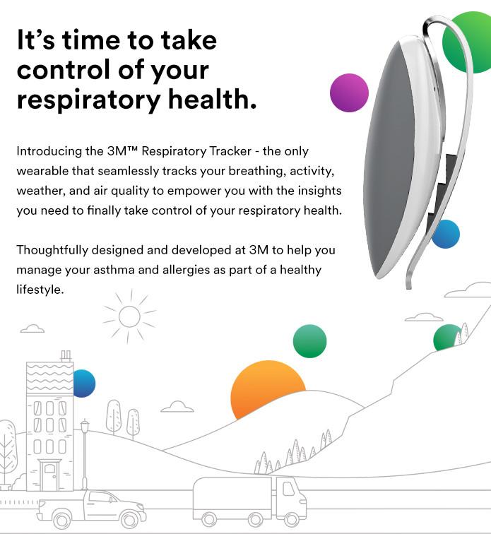 3m Respiratory Tracker Understand Your Triggers Indiegogo