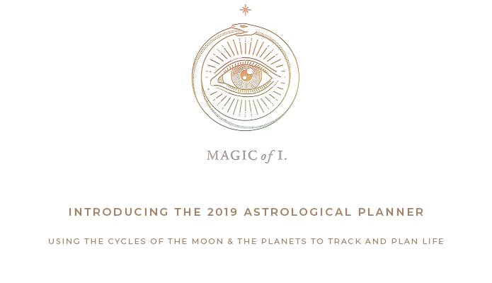 2019 Astrological Planner by the Magic of I  | Indiegogo