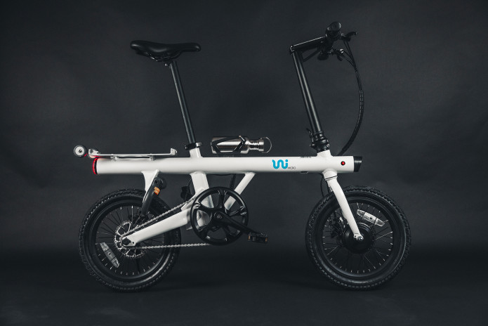 757498eac4f ... toughest urban micro electric folding ebike that can be stored in even  the tiniest spaces and offers all the benefits of a folding bike without ...