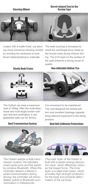 Ninebot Electric Gokart: The Coolest Gokart Ever | Indiegogo
