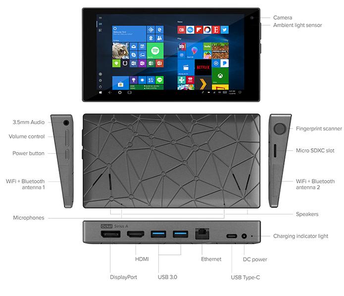 Ockel Sirius A: the World's Most Versatile Mini PC   Indiegogo