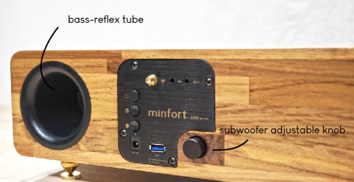 MIN 660 & MIN 628 - Wooden Wireless Speakers | Indiegogo