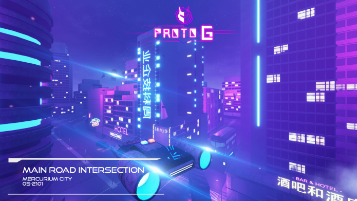 Proto-G, A Futuristic Robot Hack and Slash PC Game   Indiegogo