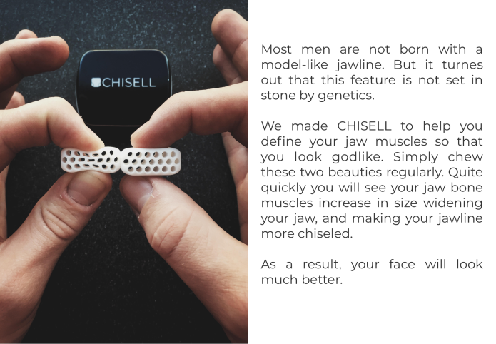 Chisell Game Changing Tool To Improve Your Jaw Indiegogo
