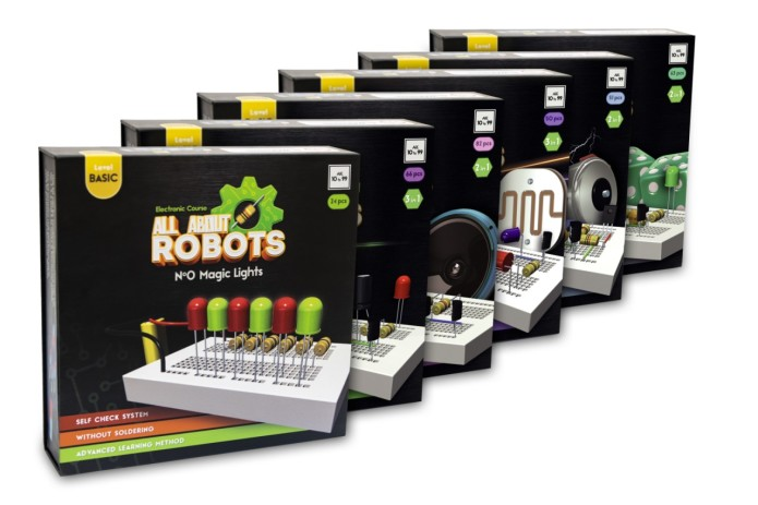 All About Robots Learning Kits Indiegogo