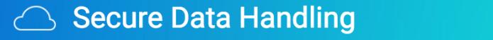 Secure data handling banner