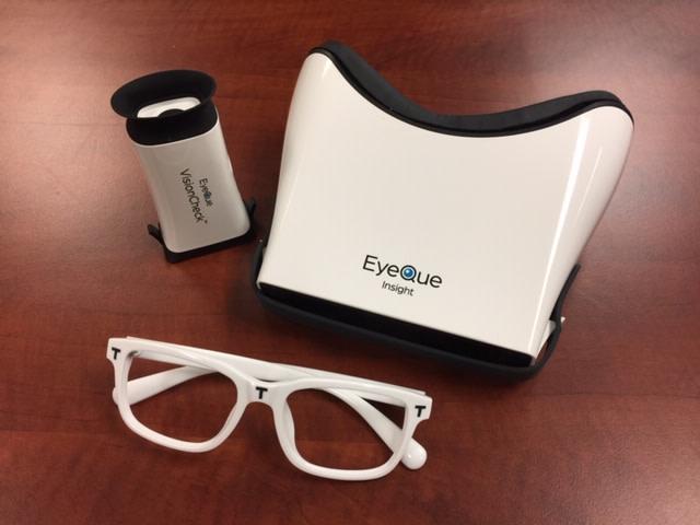 Eyeque Visioncheck Worlds 1st Automated Eye Test Indiegogo
