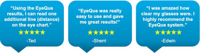 EyeQue VisionCheck, World's 1st Automated Eye Test | Indiegogo