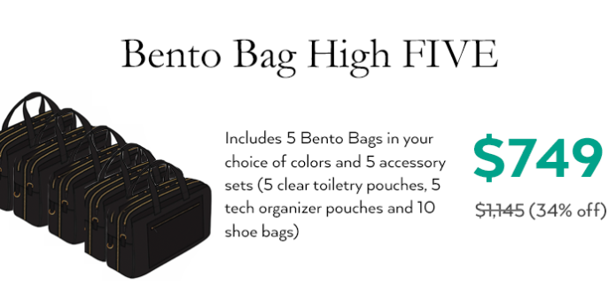 The Bento Bag: Most Thoughtful Travel Bag Ever | Indiegogo