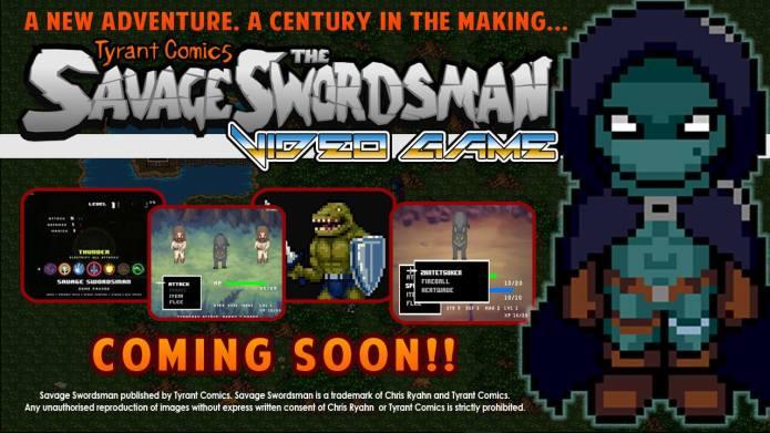 Tyrant comics: The Savage Swordsman   Indiegogo