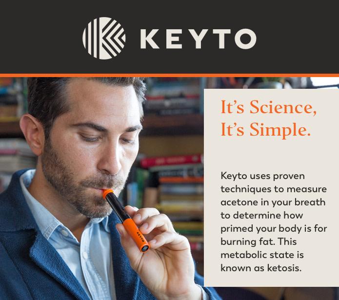 Keyto Ketogenic Diet Tracker