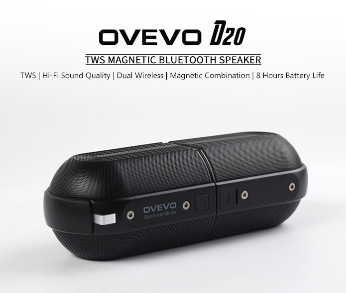 ca91f2ff21d OVEVO D20 - Best Endurable TWS Stereo Speakers | Indiegogo