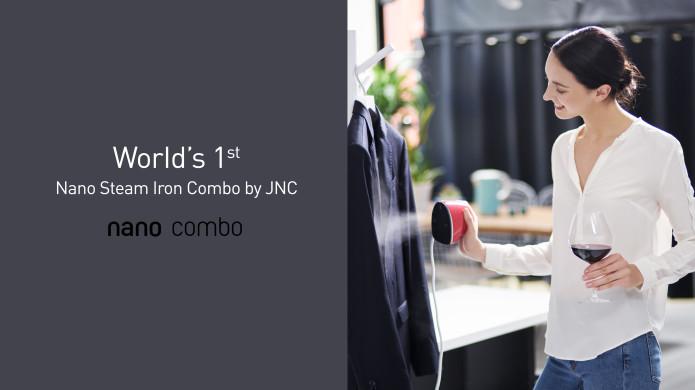 World S 1st Nano Steam Iron Combo By Jnc Indiegogo