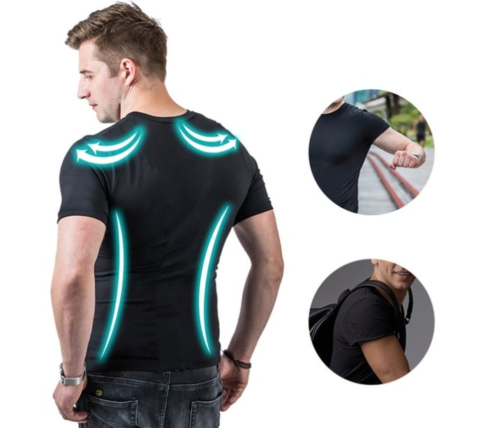 c866ea357f The Fit-Shirt by Y-Curve helps you look good while helping you stay fit and  healthy. Designed to not stretch