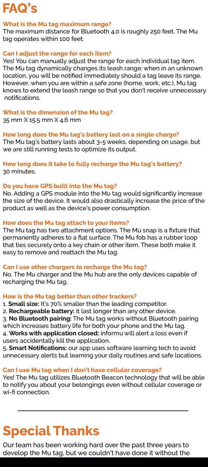 Mu Tag: World's Smallest Loss Prevention Device   Indiegogo