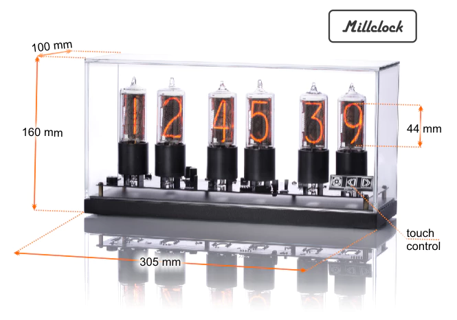 Reborn ZIN18 Nixie Tube Clocks Deals, Coupons & Reviews